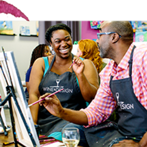 """""""DADDIES and DAUGHTERS"""" Paint and Sip Event"""