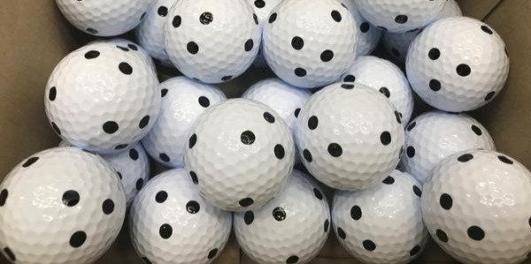 QED Brigdestone Golf Balls (Pack of 16 balls)