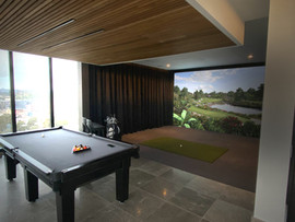 Penthouse Golf Simulator