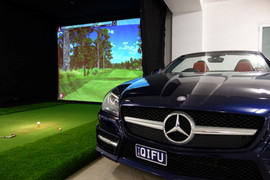 Basement Golf Simulator Melbourne