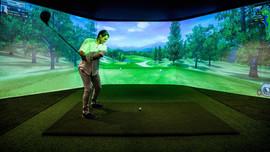 Hayman Island golf simulator