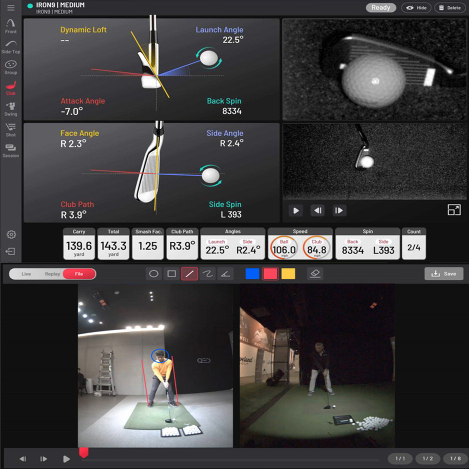COACHING AND CLUB FITTING