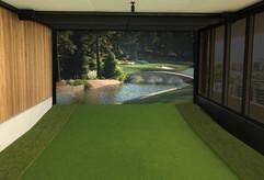 Penthouse Golf Simulator