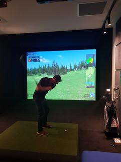 The Commons Golf Simulator