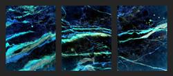 3 piece Abstract Art - Cypress TX