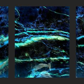 Tempest - Large Resin Art