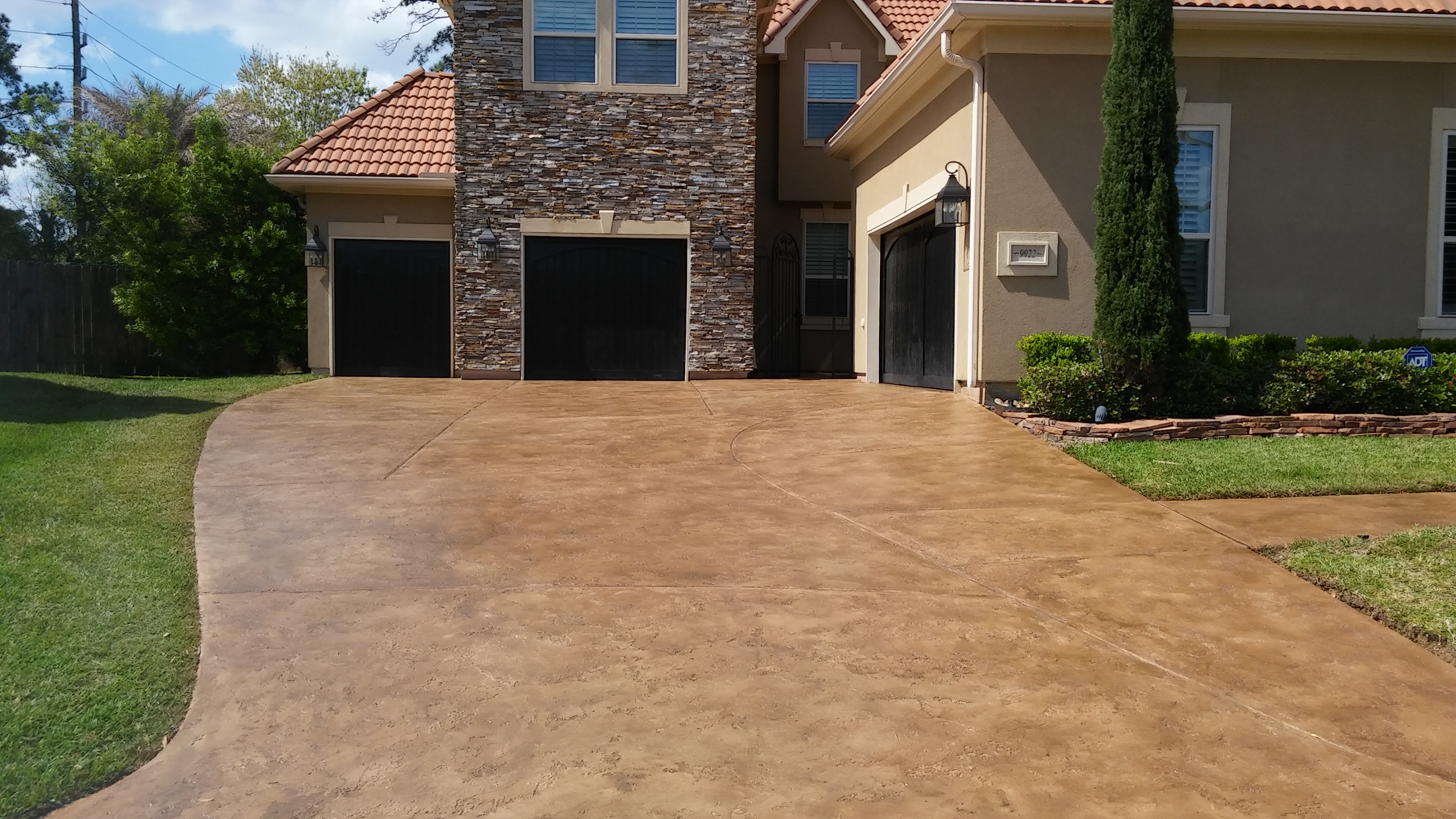 Cypress TX Driveway Overlay