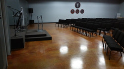 Rustic Stained Concrete - Cypress TX