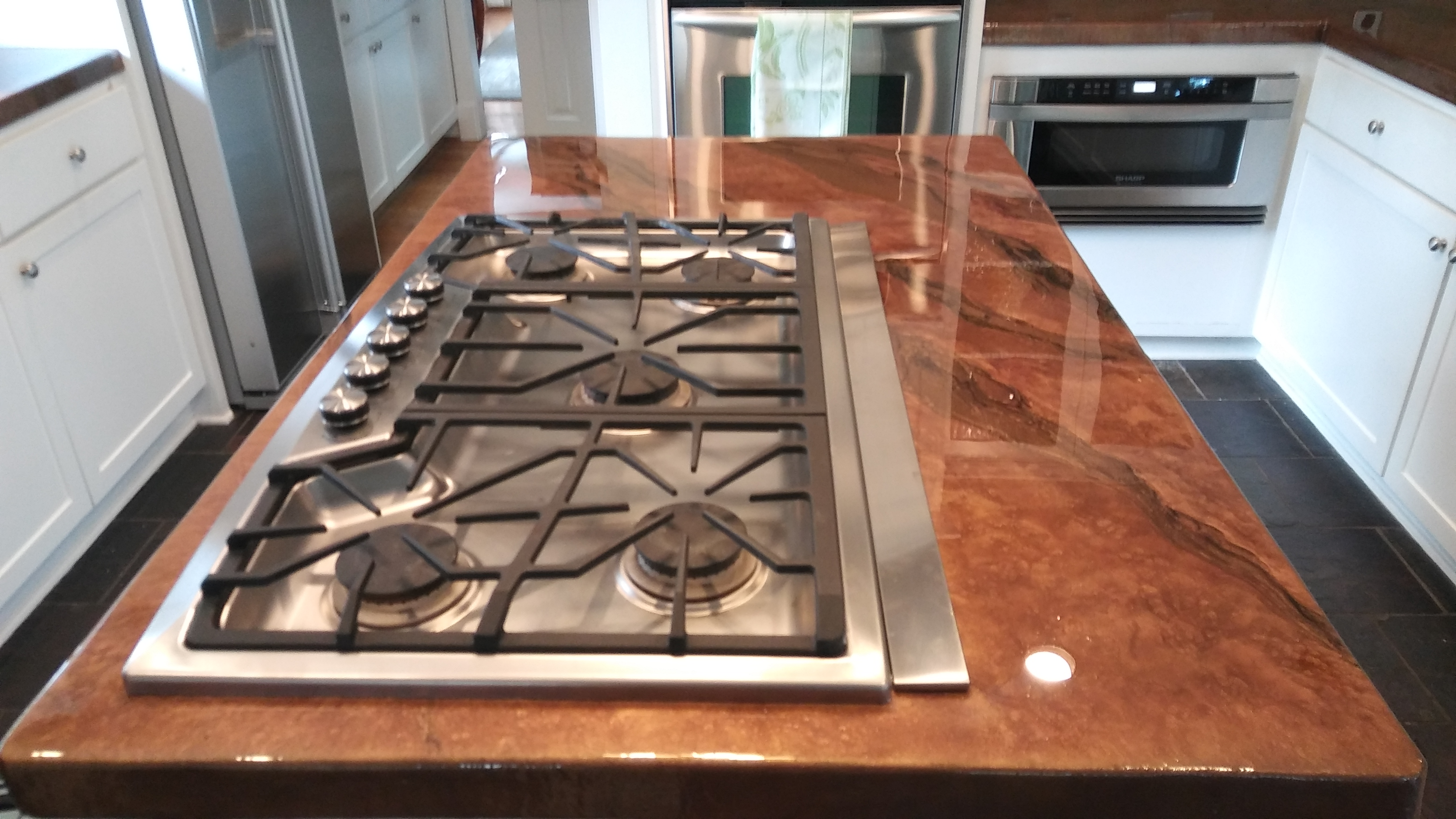 Epoxy countertop Isalnd - Houston