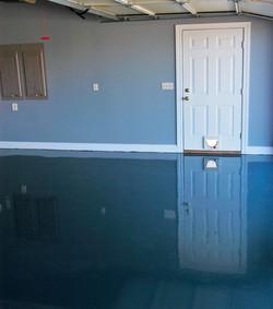 Glossy Garage Floor install - Spring