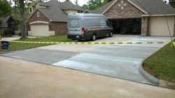3 wide driveway install - Spring TX