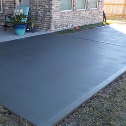 Backyard Patio Area - Hosuton TX