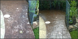 Stamped Concrete Recolor and Seal - Houston TX