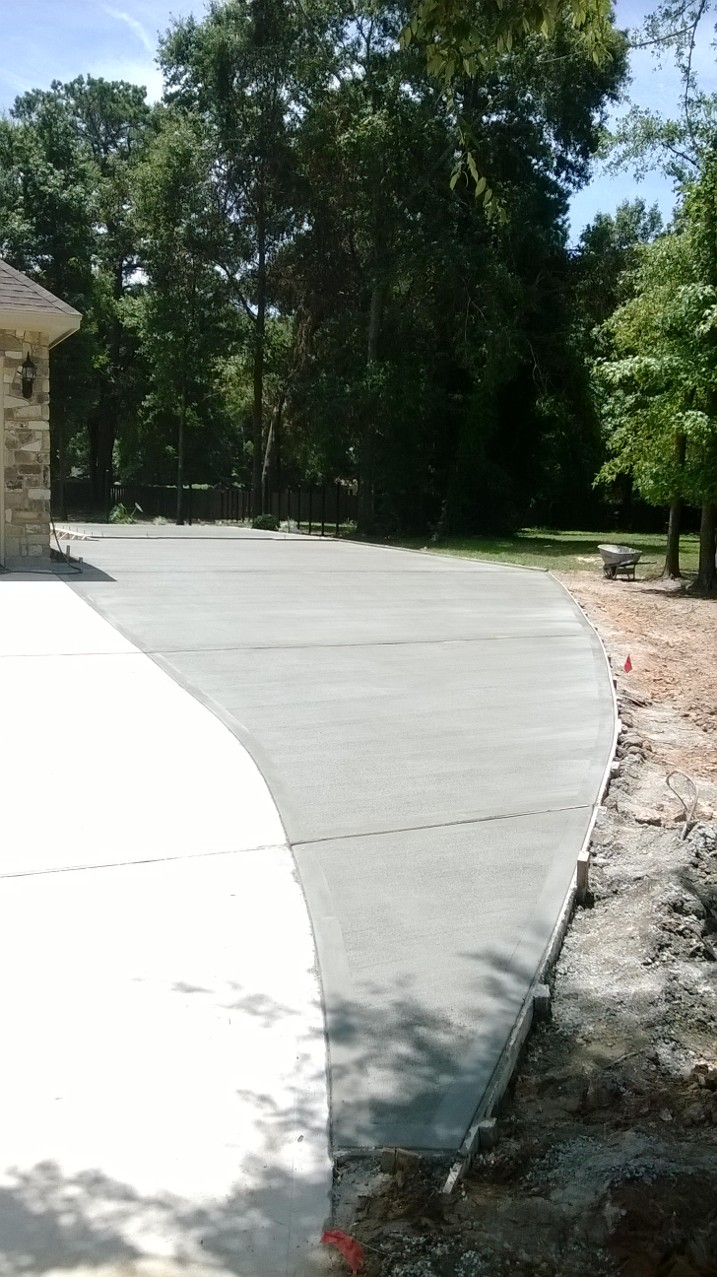 Large Driveway Expansion - Tomball