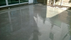 Exposed Aggregate Concrete Sealed