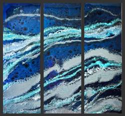 Abstract Resin Art - Houston TX