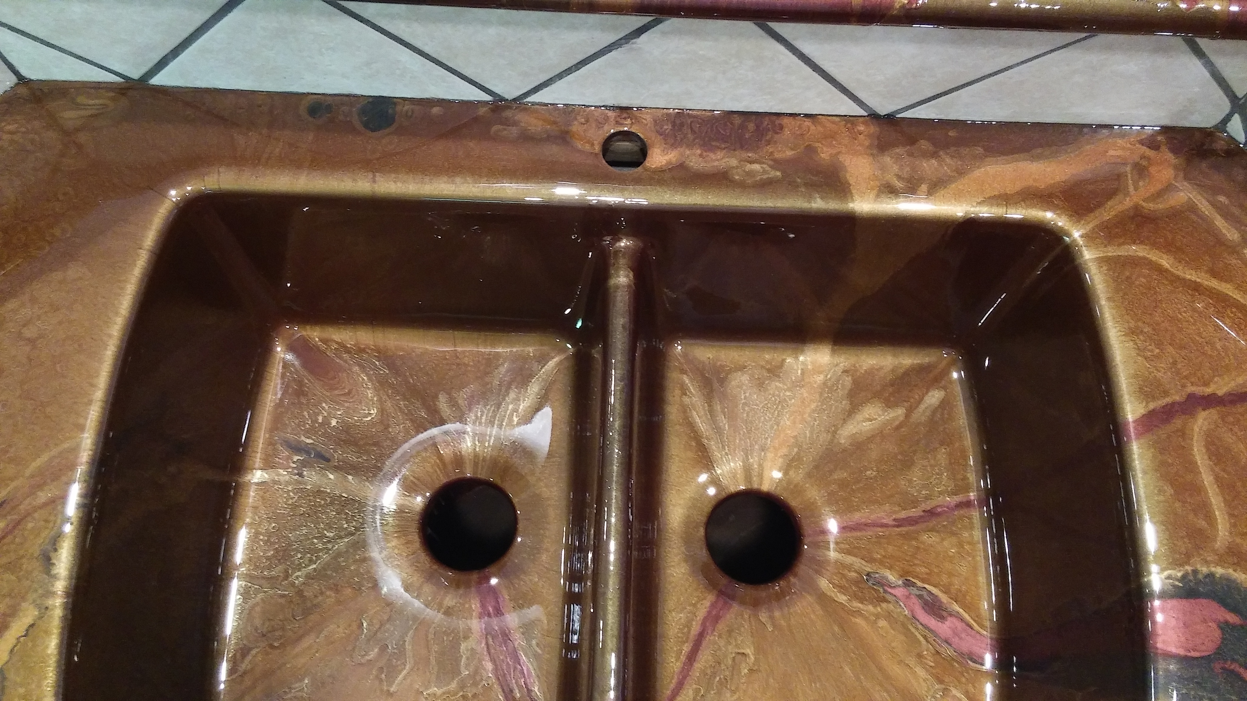 Double sink Epoxy coating - Houston