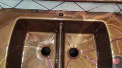 Double sink Epoxy coating - Houston