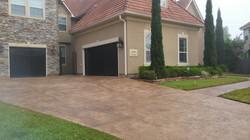 Luxury Driveway Overlay - Cypress TX