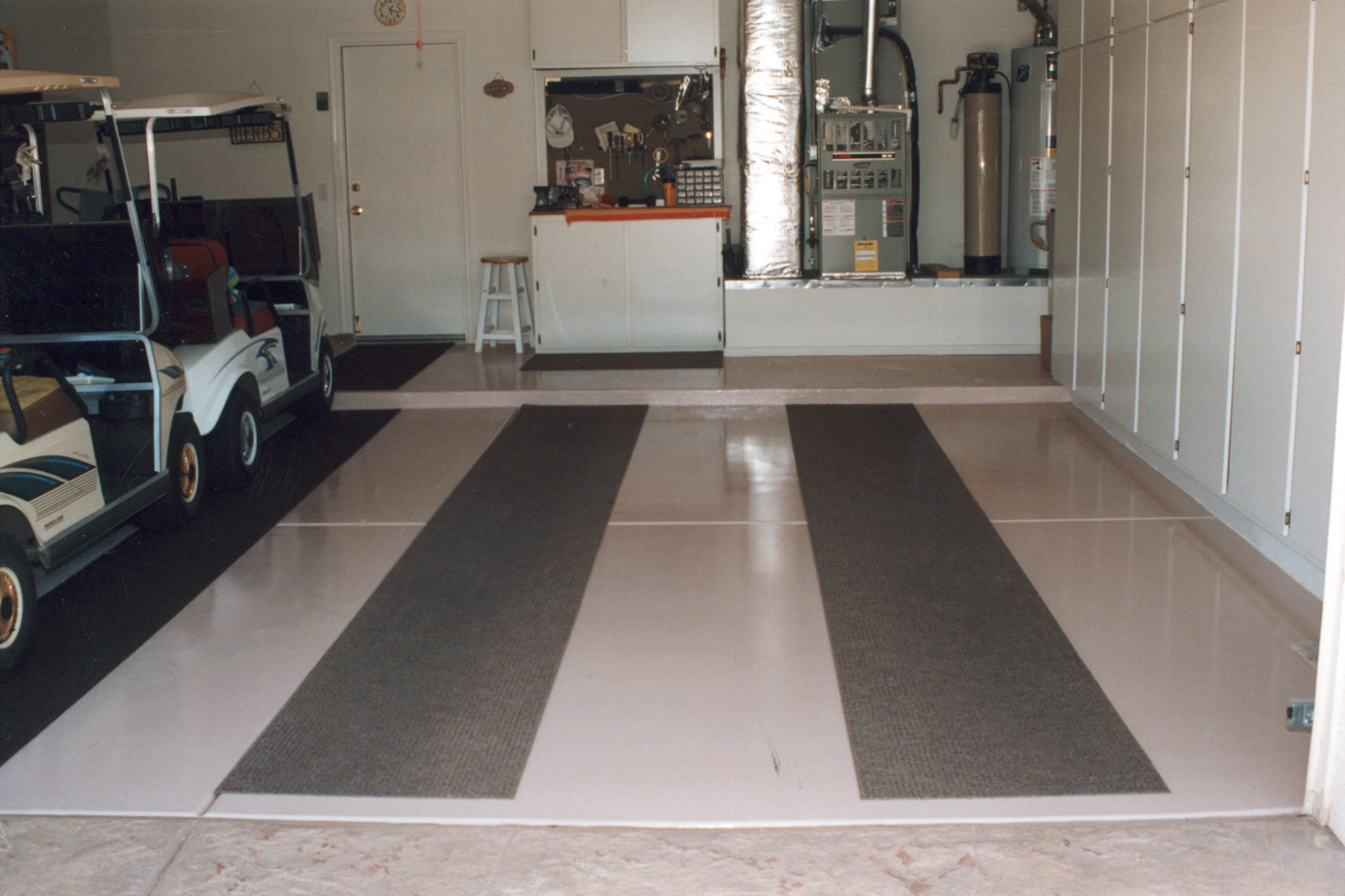 Clean Garage Floor Coating