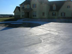 Spring Luxury Driveway Construction