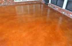 Stained Concrete Floors - Houston