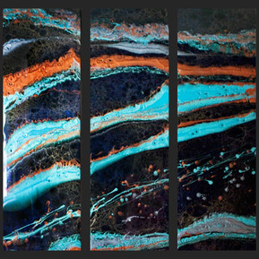 Frontier - Houston Resin Art