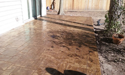 Concrete Stamping contractor Houston