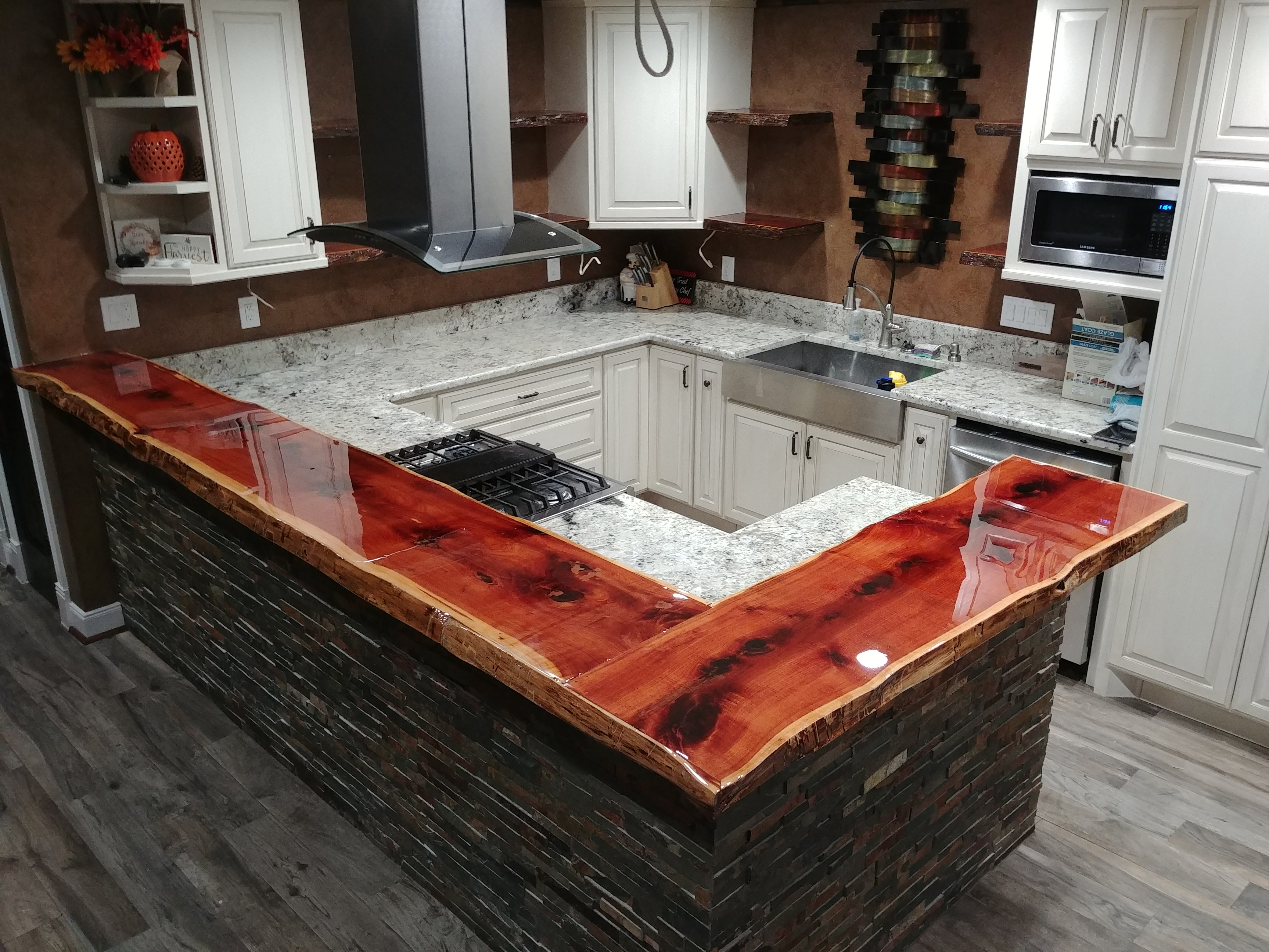 Live Edge Countertops Houston TX