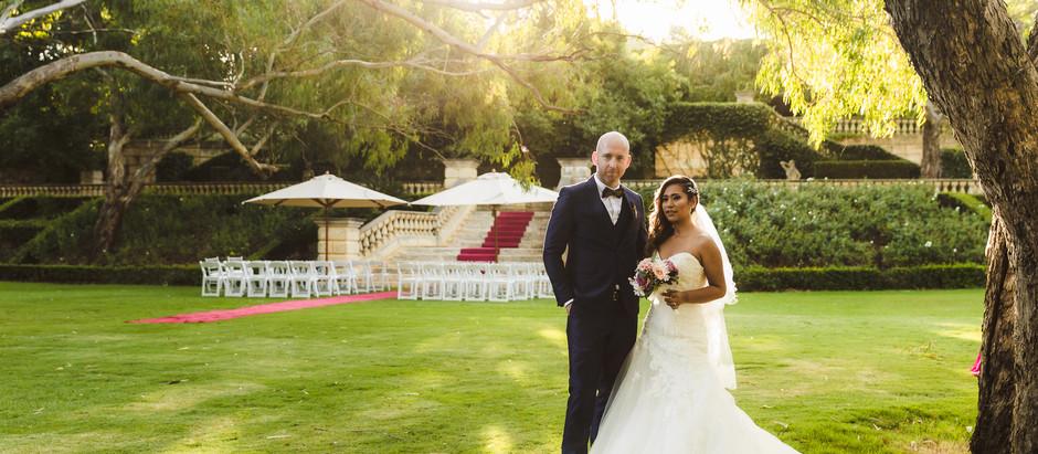 Perth Wedding Photographer at Caversham House | Jessica + James