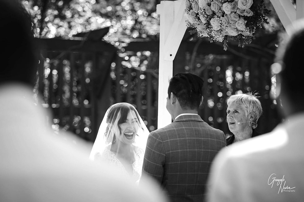 Wedding Ceremony - Gonzalo Novoa Photography at Scented Gardens, South Perth, WA