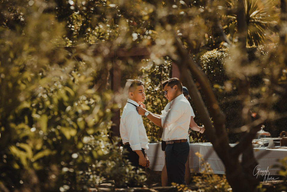 Perth Wedding Photographer, Wedding Ceremony - Gonzalo Novoa Photography at Scented Gardens, South Perth, WA