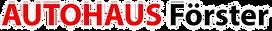 Logo Autohaus Christian Förster GmbH