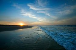 Sunset Home Beach