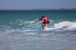 Learn to Surf Cylinder Beach