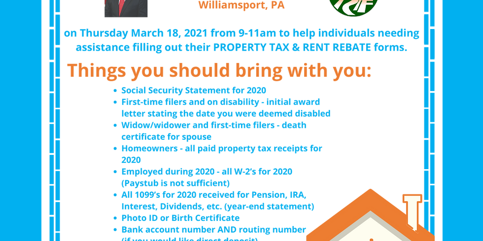 Property Tax/Rent Rebate Assistance