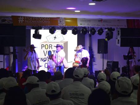 Elegidos los ganadores del concurso musical #PorMiVotoNoDecideOtro