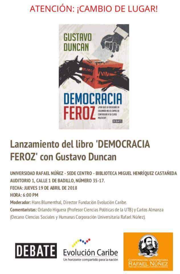 Libro Democracia Feroz