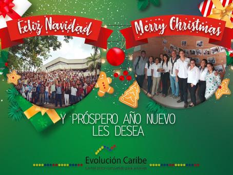 Fundación Evolución Caribe te desea felices fiestas