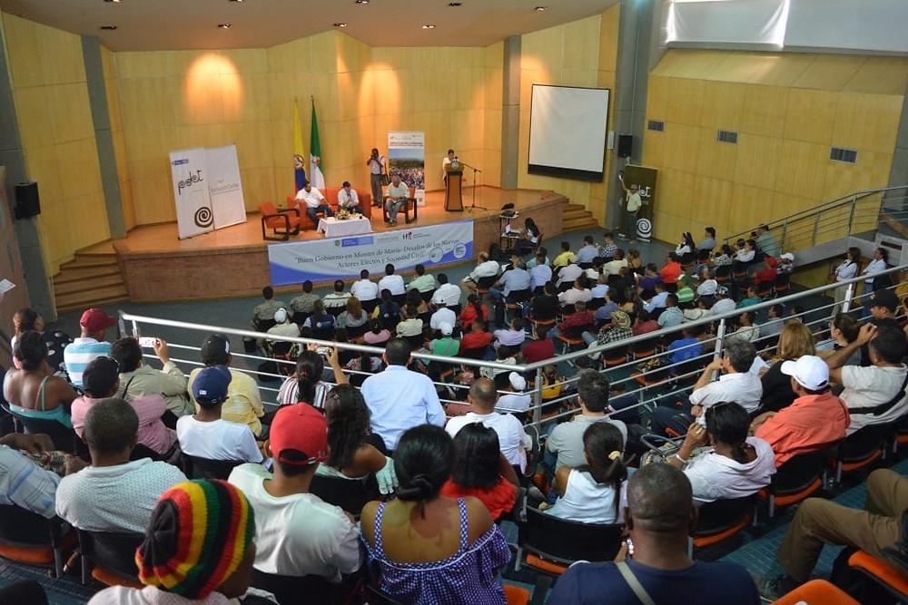 Buen Gobierno en Montes de María - Dic 2019