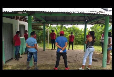 Seguimos fortaleciendo capacidades con 19 organizaciones productivas  en el Caribe colombiano…