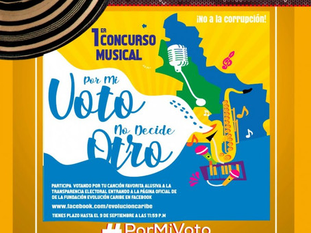 Concurso Musical #PorMiVotoNoDecideOtro
