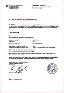 Diplome suisse Dr Pinatel Annecy.jpg