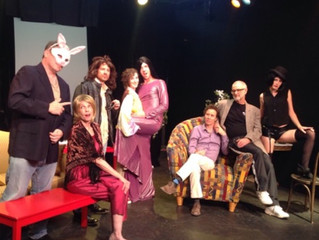 In Rehearsal With The Cast of HOPPING ON DOWN THE BUNNY TRAIL