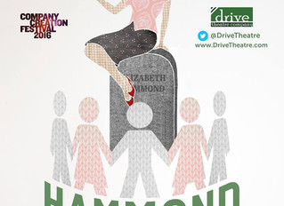 Come see me in a new play ELIZABETH HAMMOND, Jan 23, 24, Feb 3, 4, & 5!