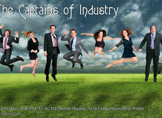 Improv with Captains of Industry, Friday May 14, 2016 @ 8PM at Acme Noho