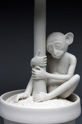 Surrogate (monkey topiary)