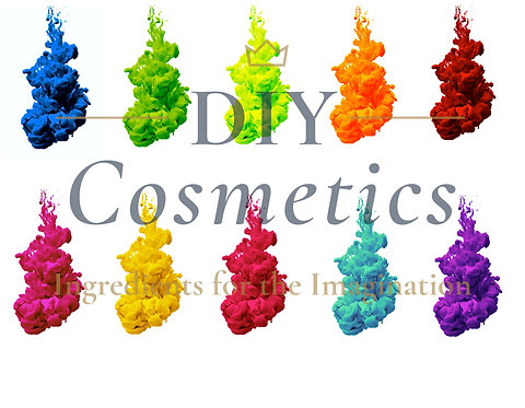Cosmetic Water Soluble Liquid Dyes - Set of 10 Colours