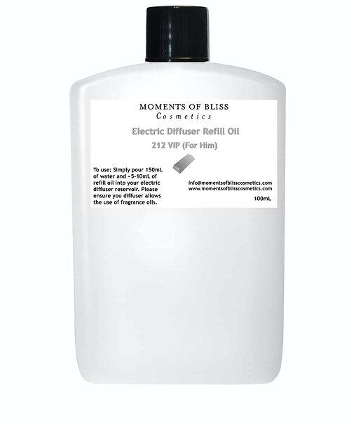 212 VIP(For Him) - Electric Diffuser Refill Oil