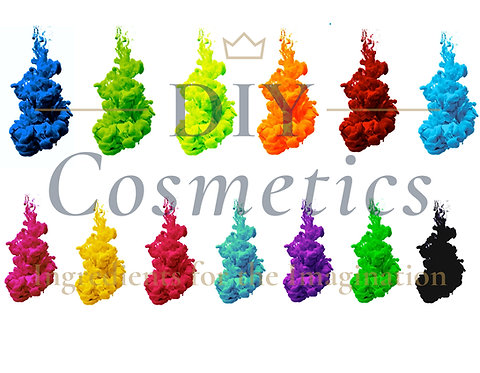 Cosmetic Water Soluble Liquid Dyes - Complete Set of 13 Colours
